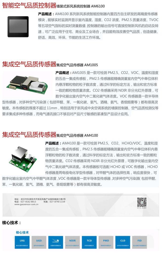 激光型粉尘传感器 PM2005-上海空气新风展 AIRVENTEC CHINA 2021.6.2-4 新风系统 通风设备 空气净化