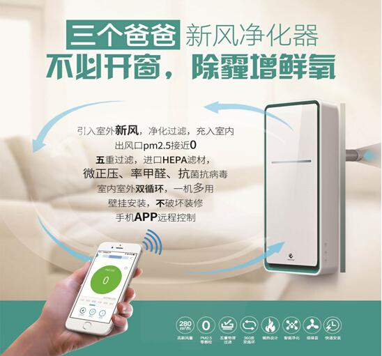 智氧新风机-上海空气新风展 AIRVENTEC CHINA 2021.6.2-4 新风系统 通风设备 空气净化