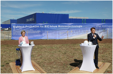 ZIEHL-ABEGG(施乐百) | 投资 1600 万欧元在库普弗采尔扩大节能风机的生产-上海空气新风展 AIRVENTEC CHINA 2022.6.8-10新风系统 通风设备 空气净化